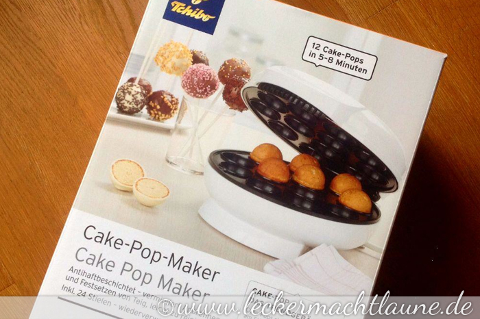 tchibo cake pop maker im test lecker macht laune. Black Bedroom Furniture Sets. Home Design Ideas