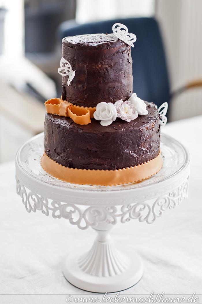Rocher Torte Rezept Und Making Of Lecker Macht Laune