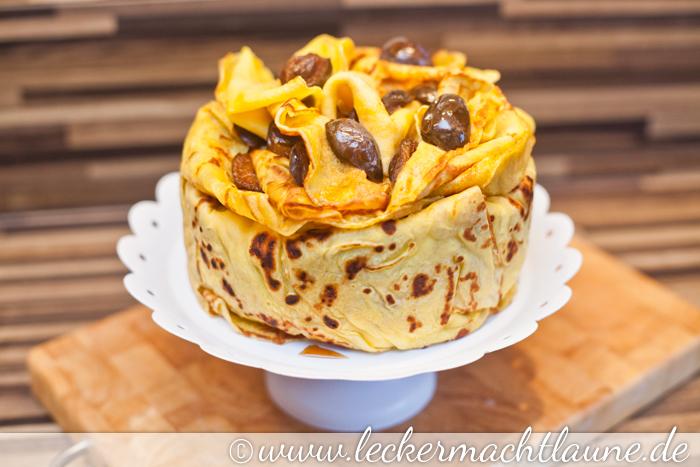 Pfannkuchen Torte Lecker Macht Laune