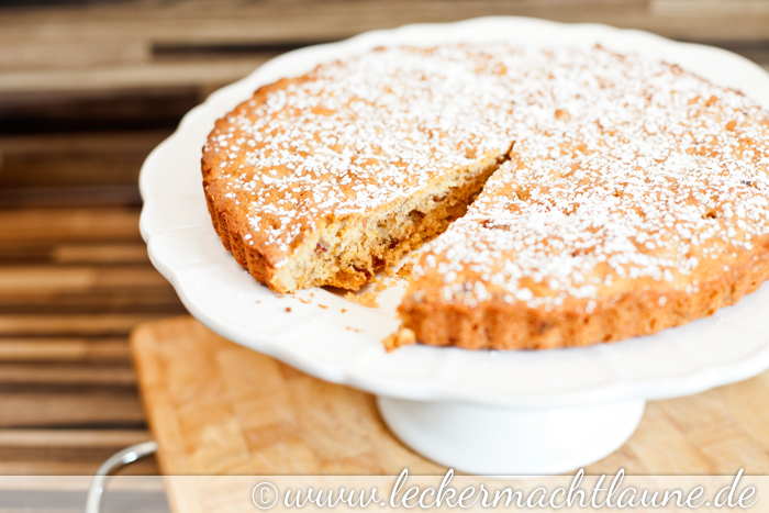 Dattel Walnuss Kuchen Lecker Macht Laune