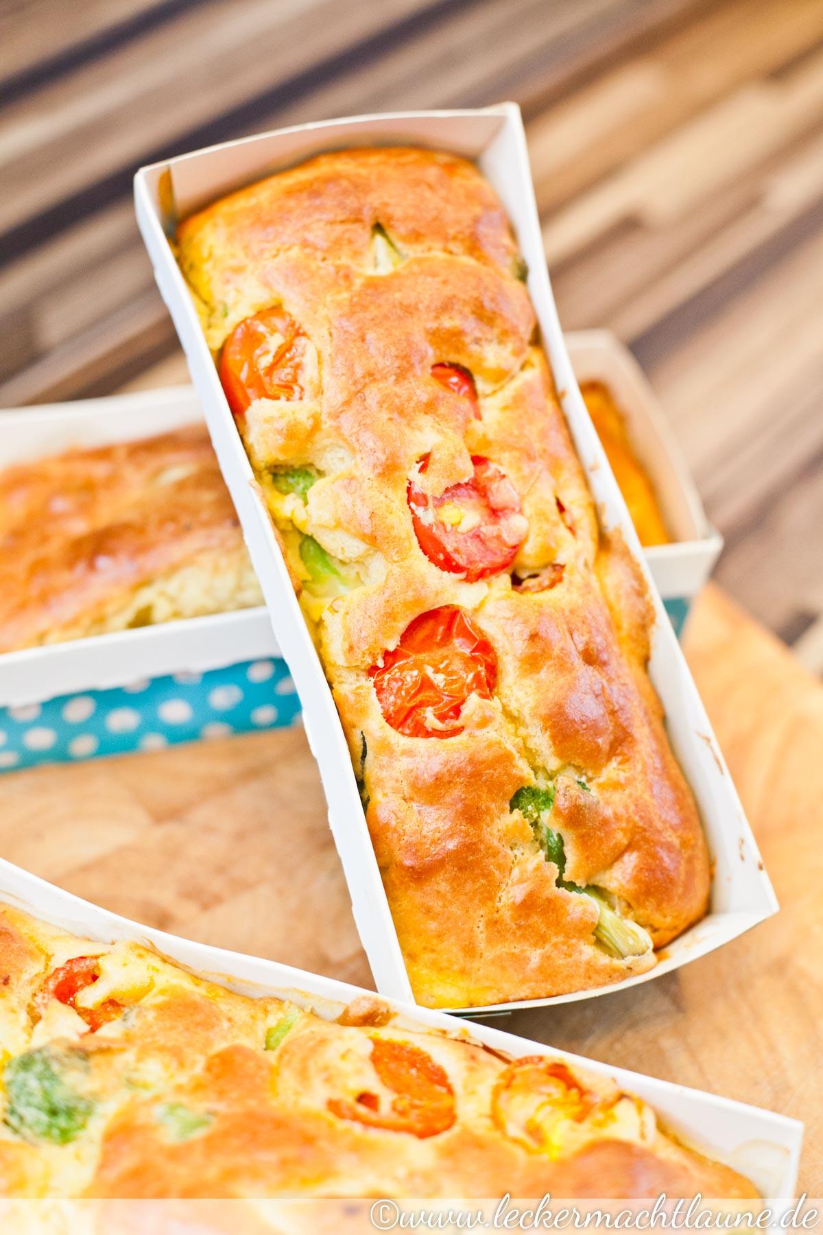 Brokkoli Tomaten Kuchen Lecker Macht Laune