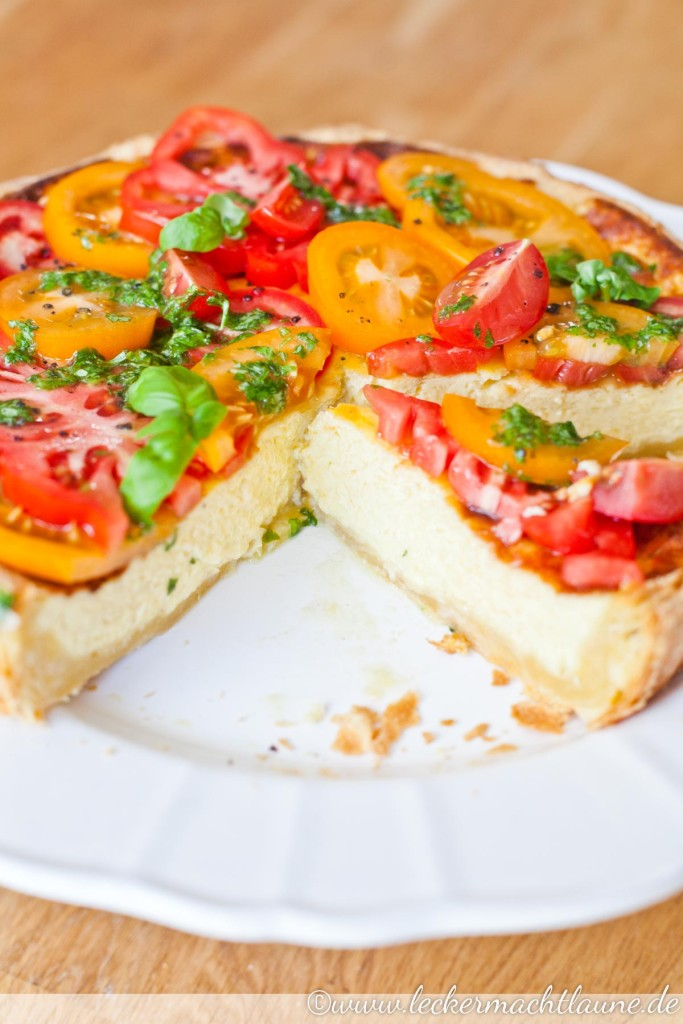 Parmesan-Tarte