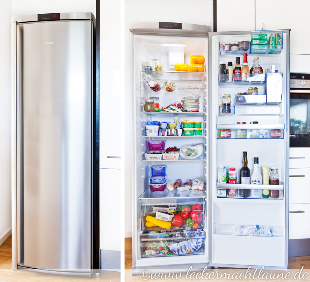 Mein neuer kuhlschrank von aeg lecker macht laune for Kühlschrank aeg