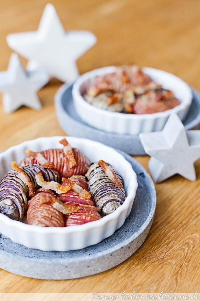 Weihnachtsmenü Lecker.Röstkartoffeln Mit Speck Lecker Macht Laune