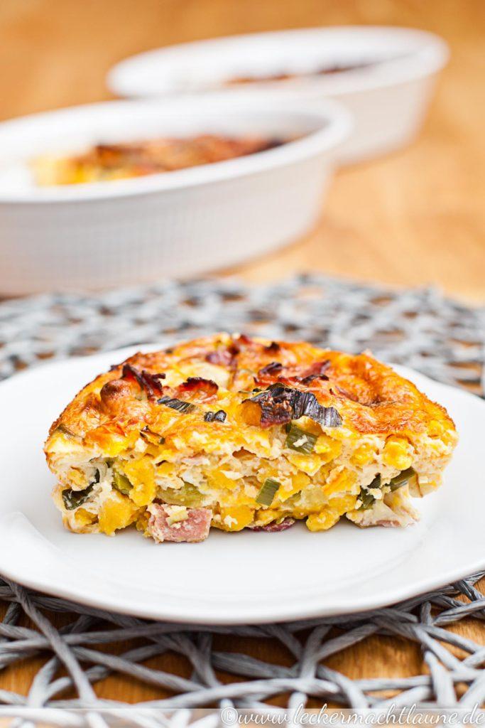 Spätzle-Omelette