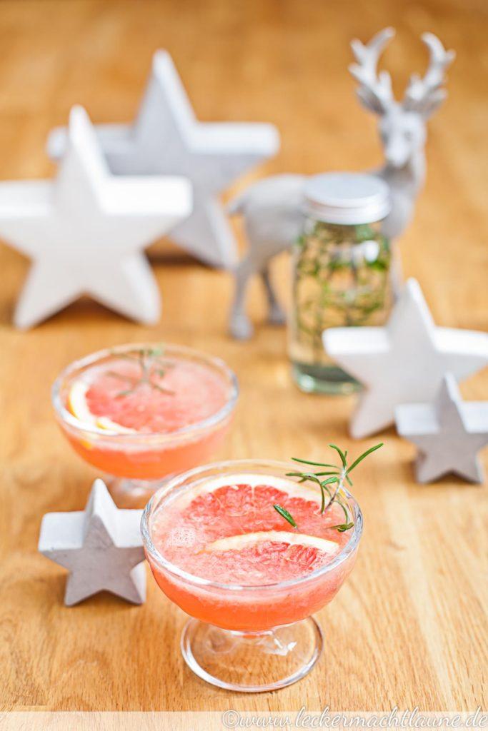 Grapefruit-Rosmarin-Mocktail