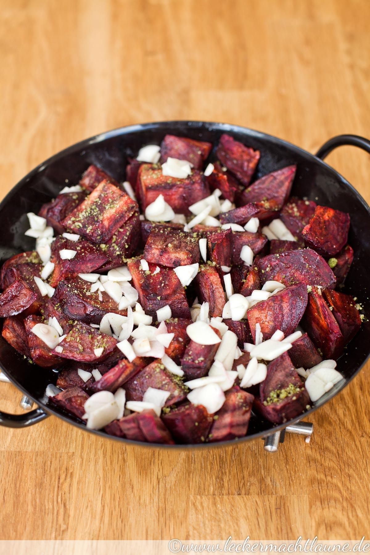 Rote Rüben / Rote Beete Salat (für Diabetiker geeignet)
