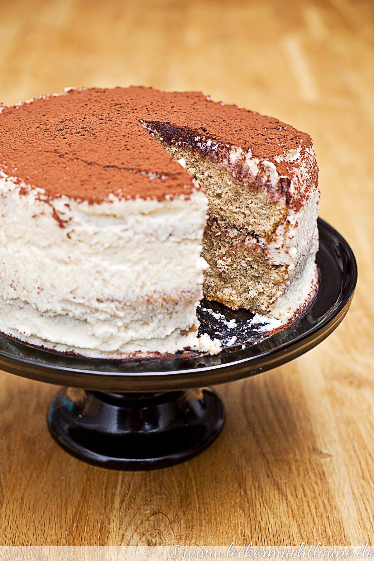 Tiramisu Torte A La Melissa Forti Lecker Macht Laune