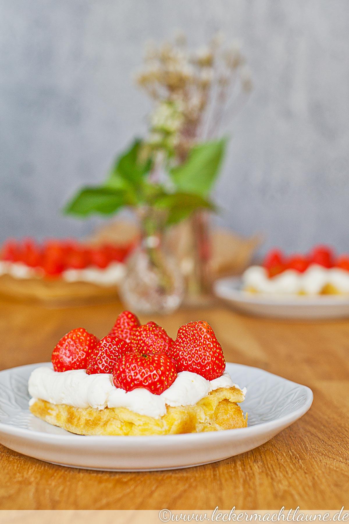 Erdbeer Mascarpone Kuchen Lecker