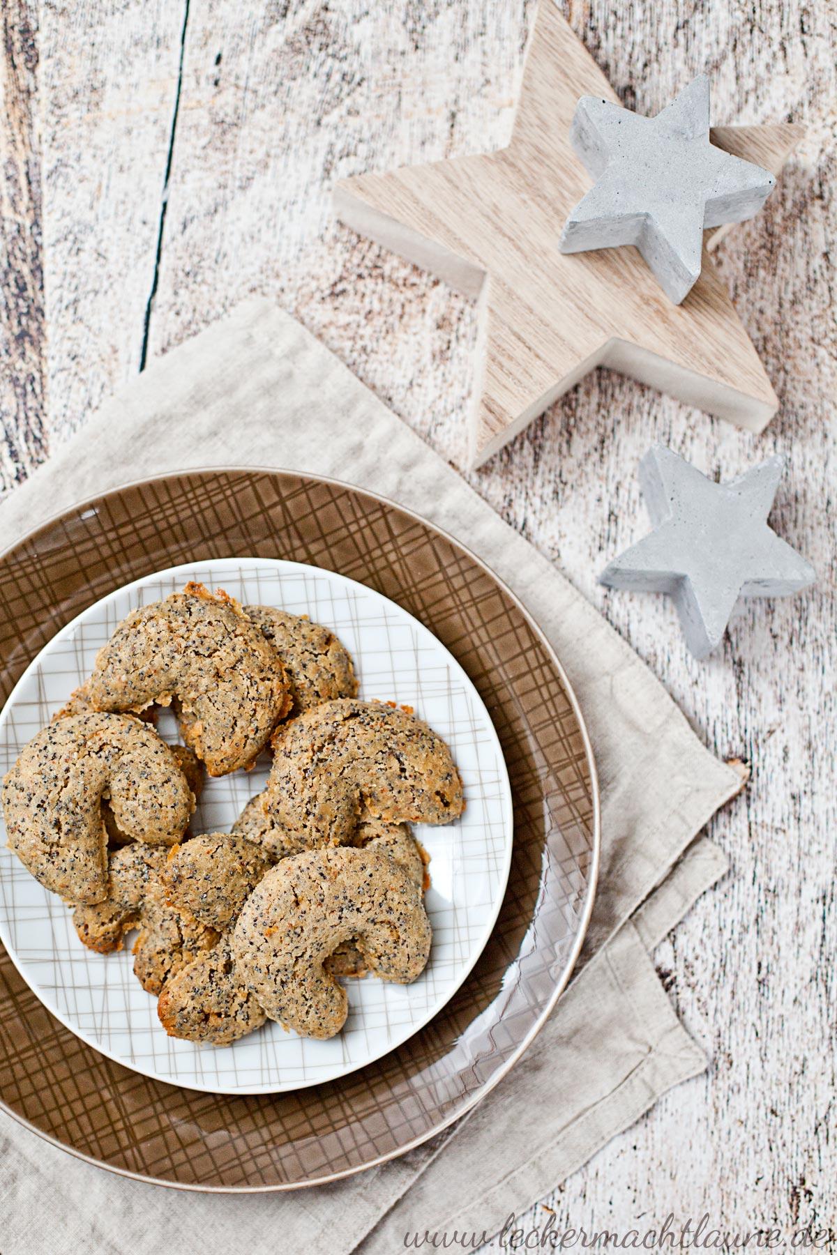 Mohnkipferl {weihnachtsbäckerei} | lecker macht laune