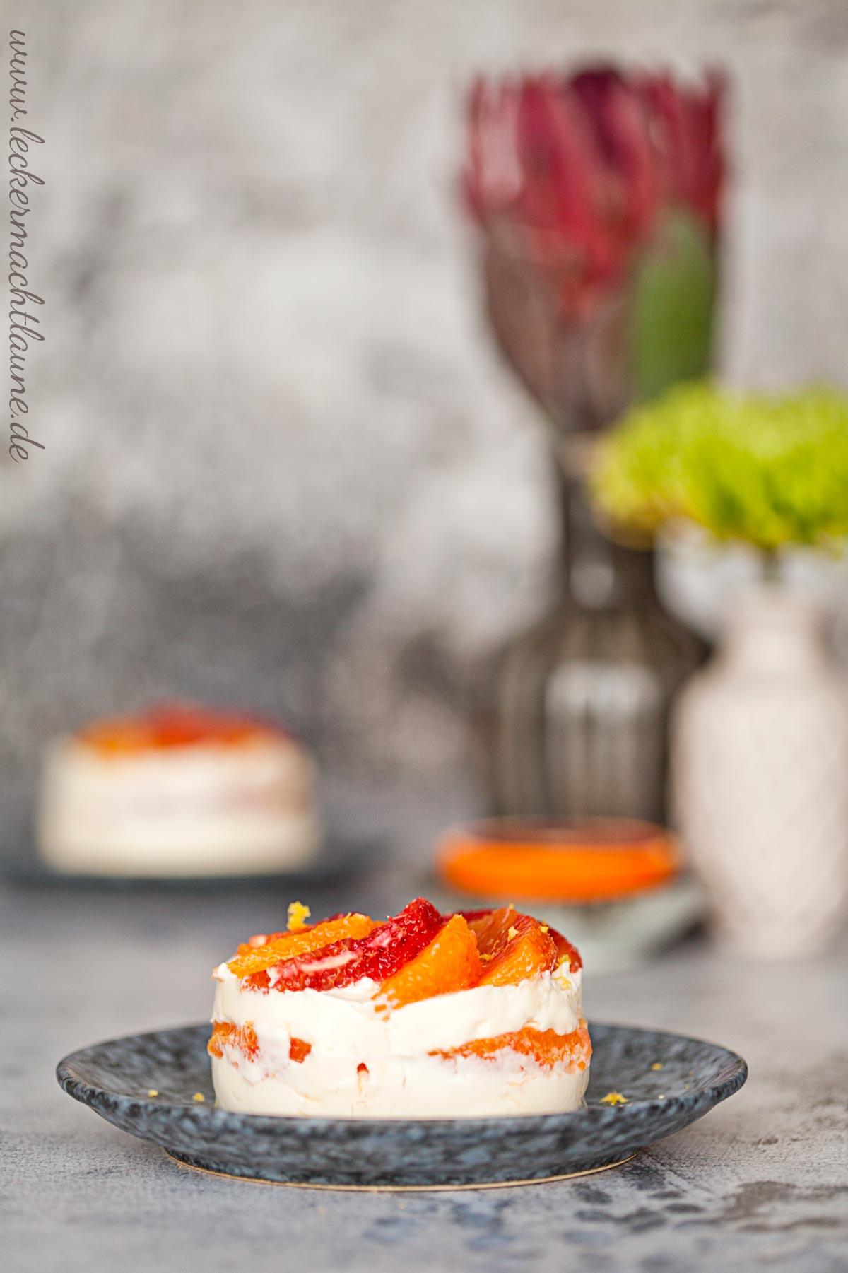 Blutorangen-Mascarpone-Dessert {schnell & lecker}