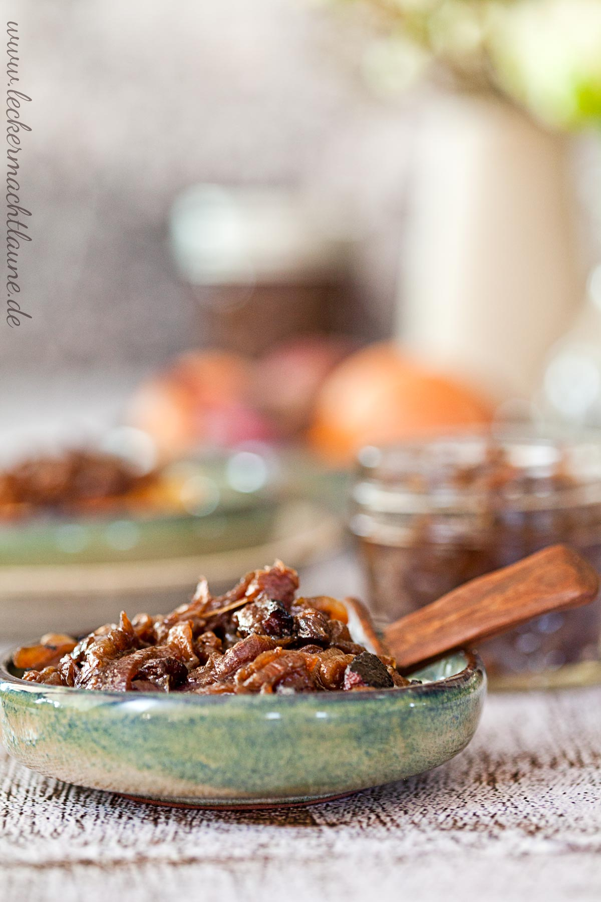 Zwiebel-Speck-Marmelade {geschenk aus der küche}
