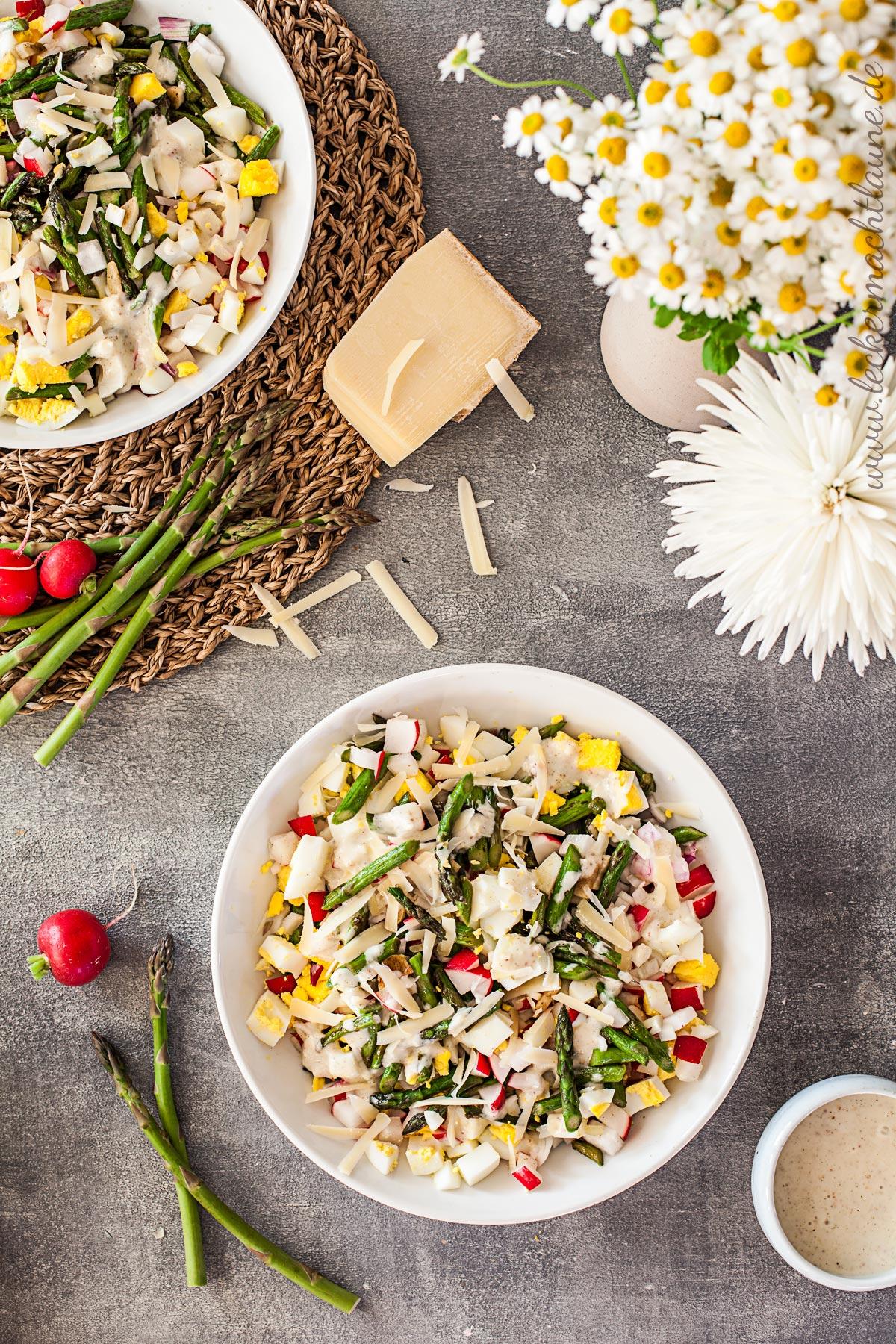 Spargel-Salat {frühlingsrezept}