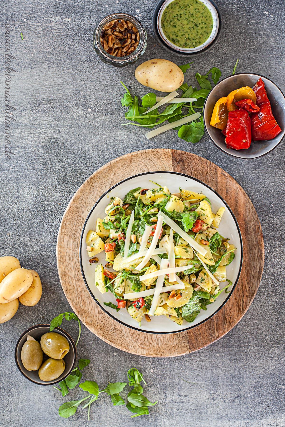 Italienischer Kartoffelsalat | lecker macht laune