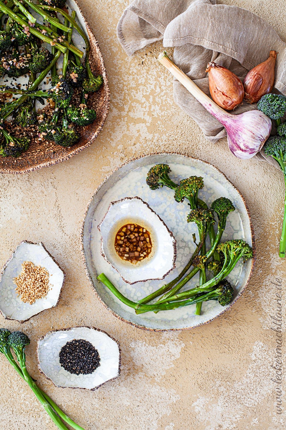 Stangenbrokkoli aus dem Ofen | lecker macht laune