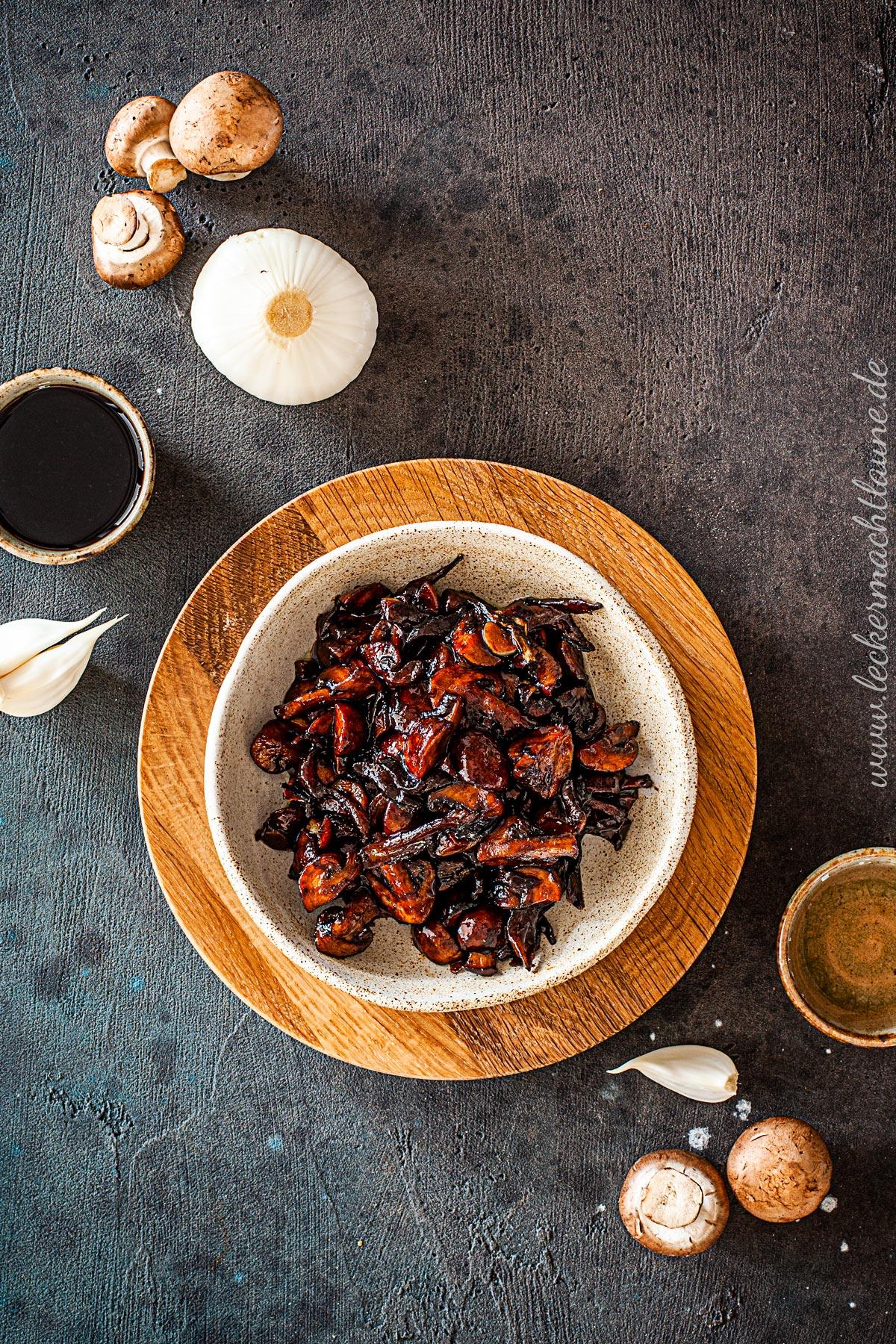 Balsamico-Champignons {grillbeilage} | lecker macht laune