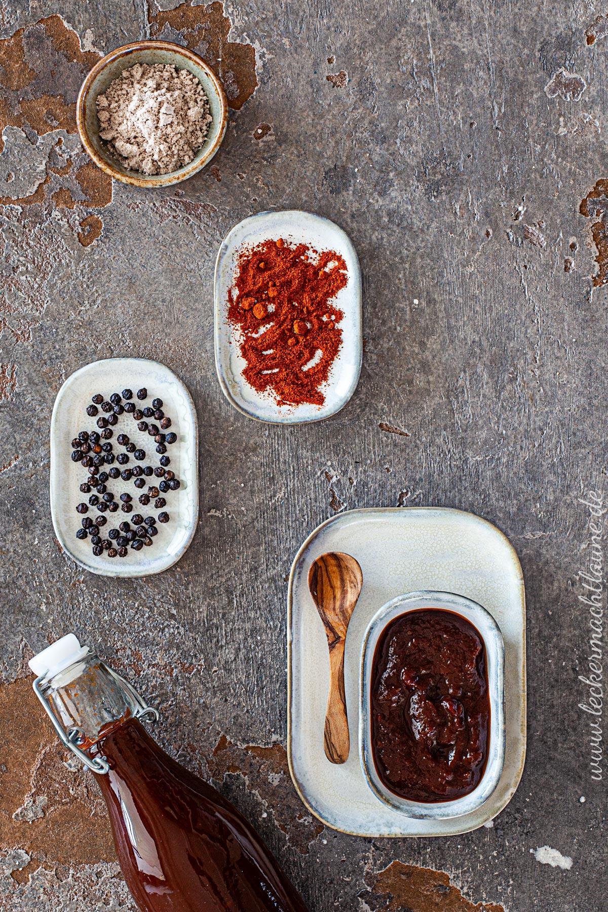BBQ-Sauce amerikanischer Art | lecker macht laune