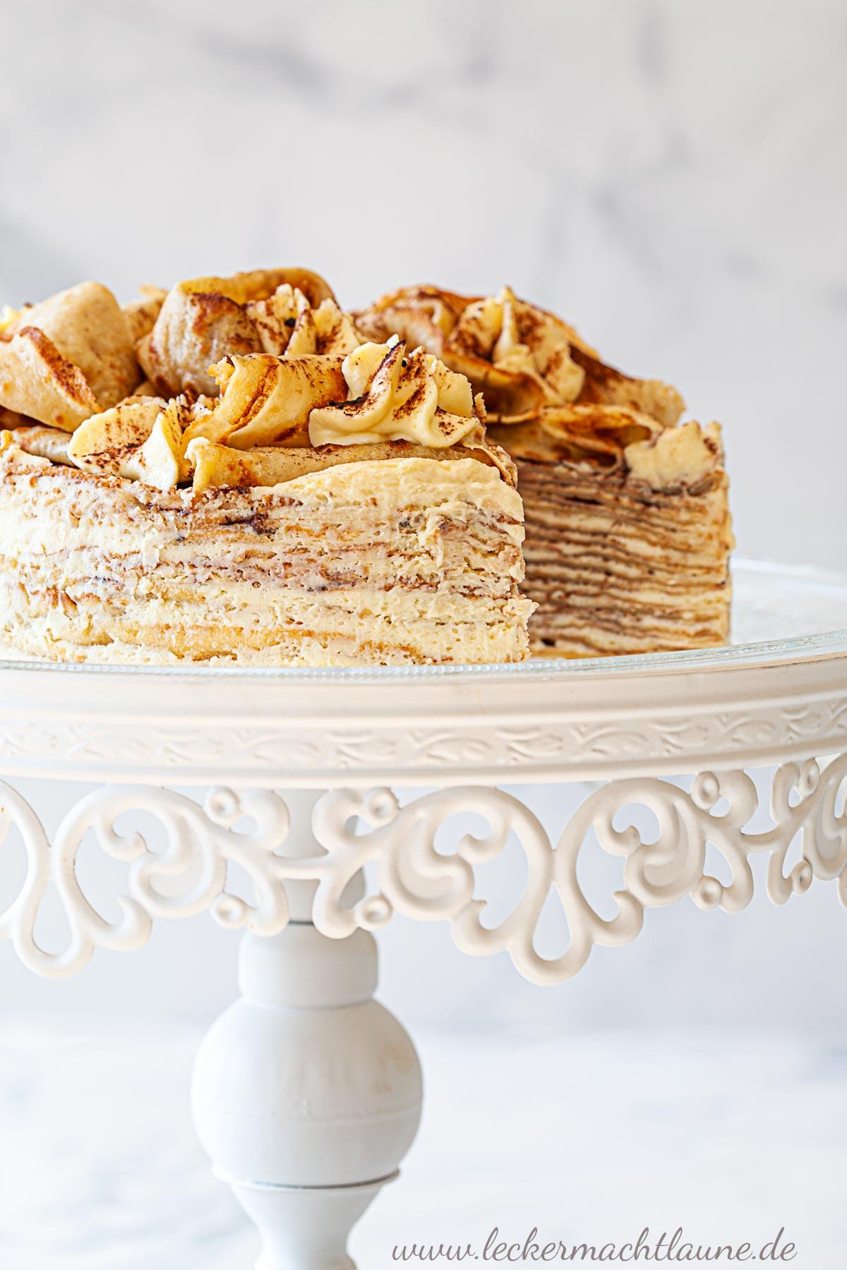Tiramisu-Crêpe-Torte