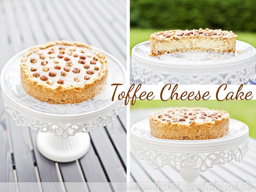 Toffee Cheese Cake Lecker Macht Laune